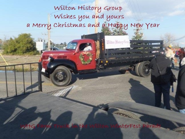 Happy Holidays from Wilton History Group
